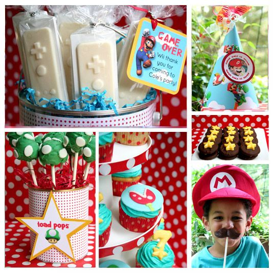 Super Mario Party {Real Parties I've Styled} | Amy's Party Ideas