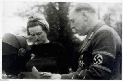 Willam (Lord Haw Haw) and Margaret Joyce in Germany.