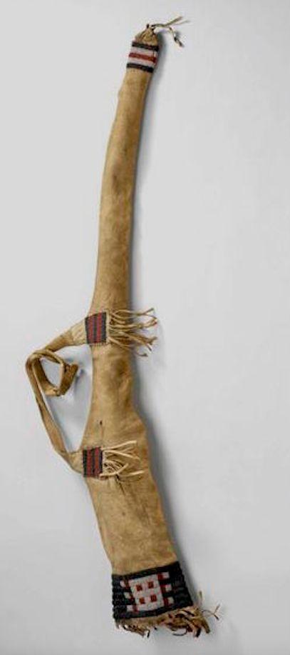 Sioux guncase 1860s-70s. Royal Ontario Mus ac                                                                                                                                                                                 More