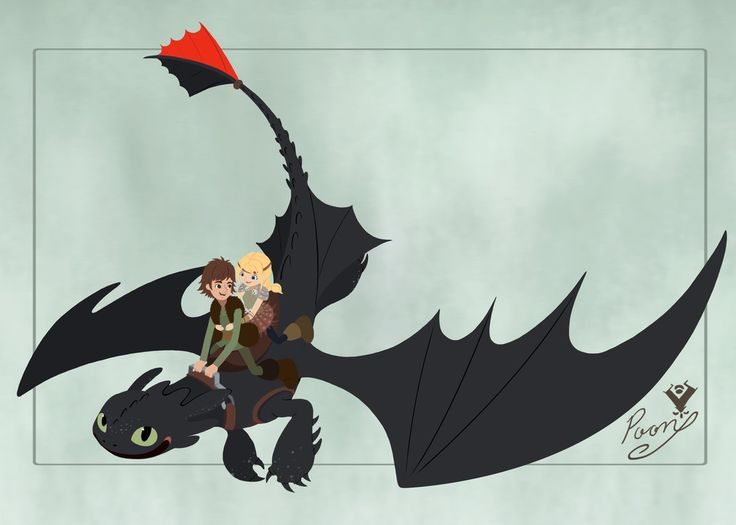 HTTYD_Hiccup and Astrid by Vallylight.deviantart.com on @DeviantArt