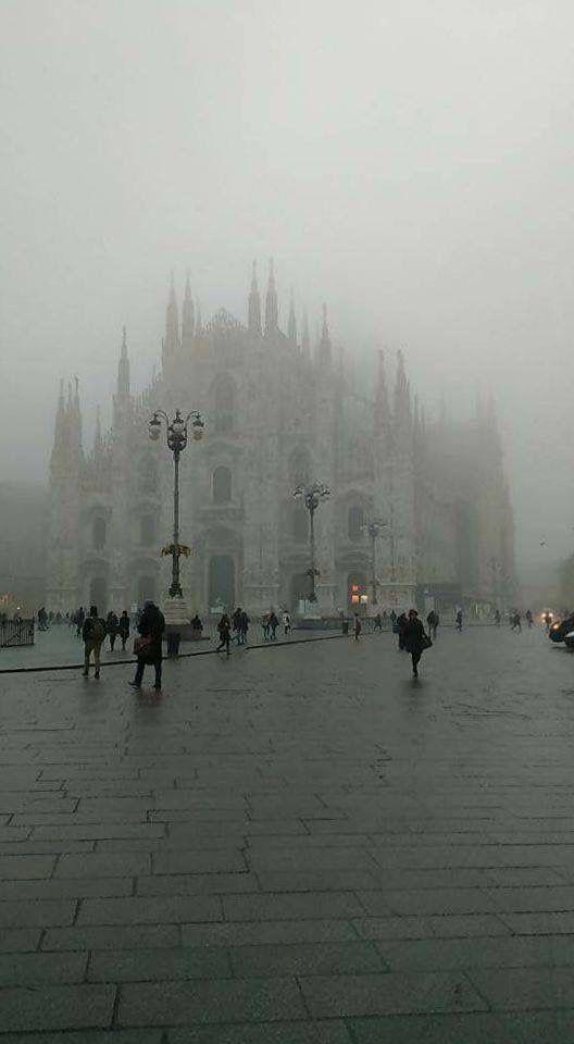 """Milano e la """"scighera"""""""
