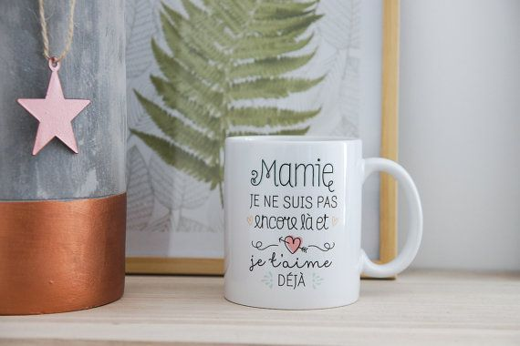 Parfait pour annoncer à votre maman, belle maman quelle va être Mamie ! Elle se rappellera chaque jour en buvant son thé ou café, sa tisane quel