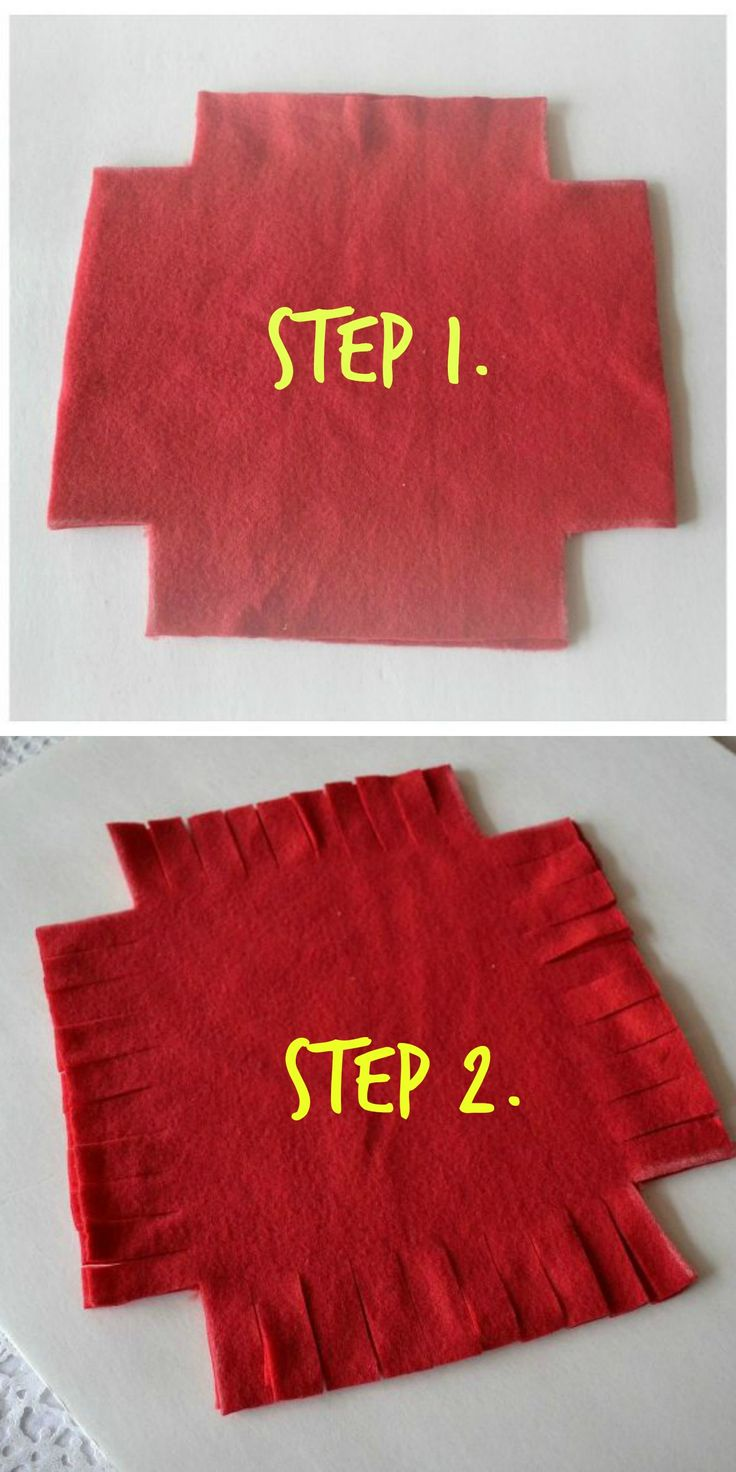 Wait until you see what she made -- without sewing a single stitch! Love this idea!!!