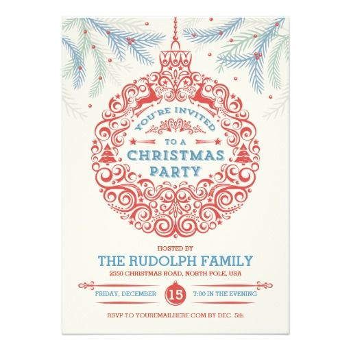 478 best images about Christmas Holiday Party Invitations – Pole Party Invitations