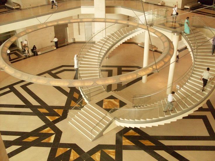 Museu de Arte Islâmica, Doha - Qatar (área interna)
