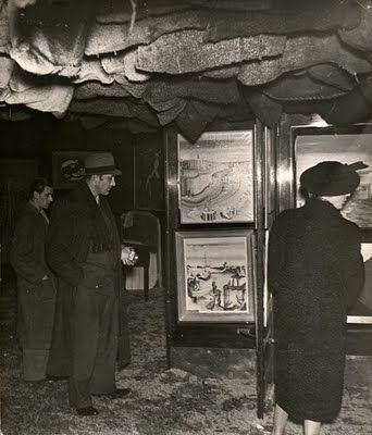 International Surrealist Exhibition Duchamp coal sacks