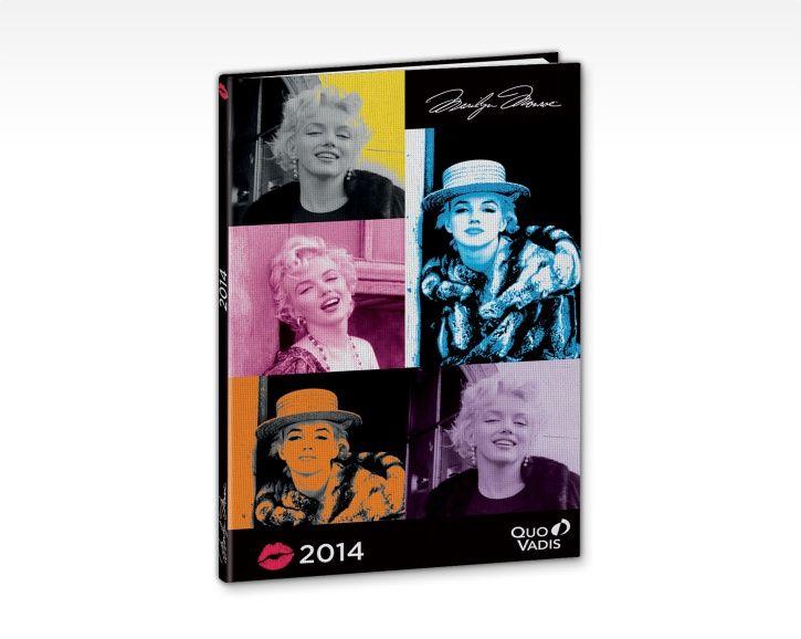 Agenda Ministre 2014 / Minister planner Marilyn Monroe - Quo Vadis
