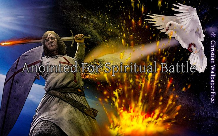 Anointed For Spiritual Battle Inked