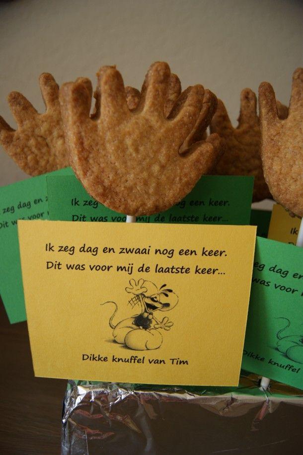 afscheidstraktatie van kinderdag verblijf Door judithschoondorp