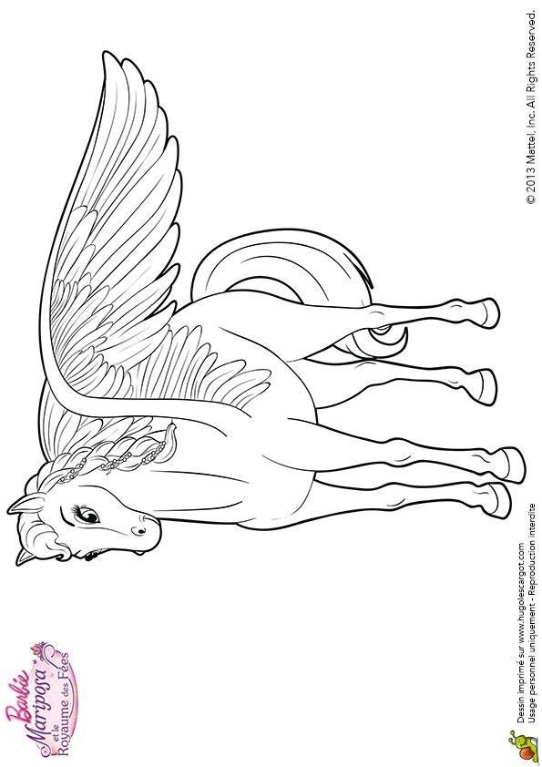 Le beau dessin colorier de sylvie le cheval ail de - Tchoupi et le cheval ...