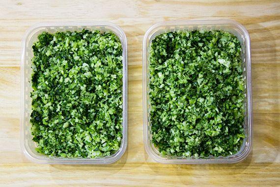 Como conservar o brócolis e a couve-flor por mais tempo, aproveitar os talos, e ainda uma receita de arroz low-carb