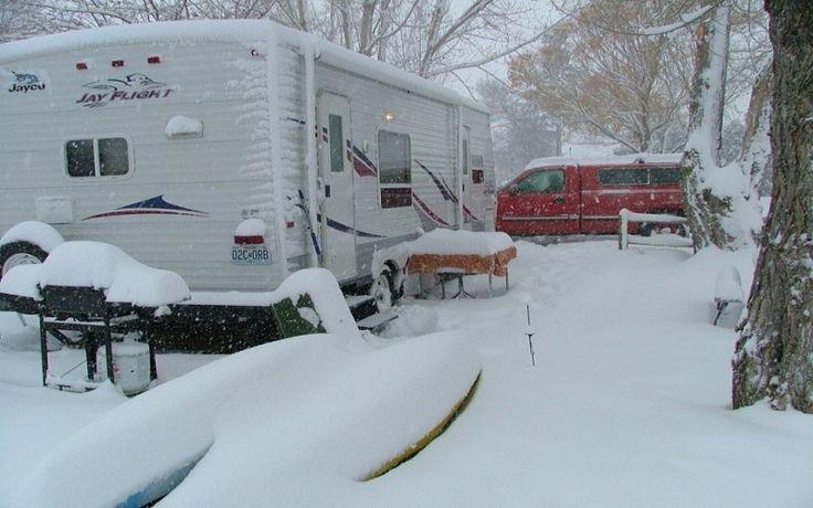 RV Winter Tips for Full-Timers