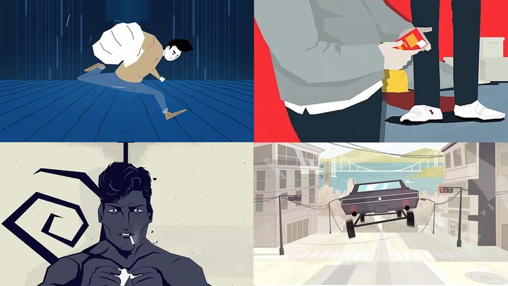 A selection of personal and professional works, illustrated, designed and animated in 2015 and 2016. Thanks for watching and I hope you enjoy :)  For more works…