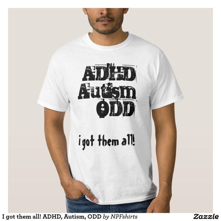 I got them all! ADHD, Autism, ODD Tröja