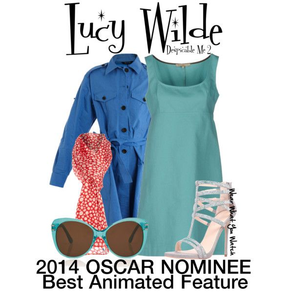 Inspired by 2014 Oscar Nominee, for Best Animated Feature, Despicable Me 2.  Character Lucy Wilde is voiced by Kristen Wiig.