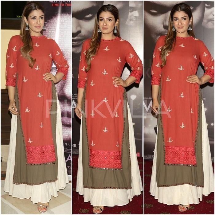 Celebrity Style,raveena tandon,Purvi Doshi,House of Shikha,Surina Kakkar,E Designs,Maatr Promotions