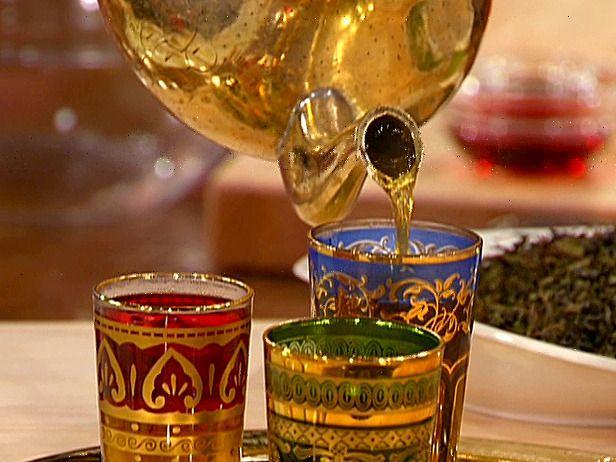 Special Moroccan Mint Tea - How to Make Moroccan Mint Tea Arabian Drink