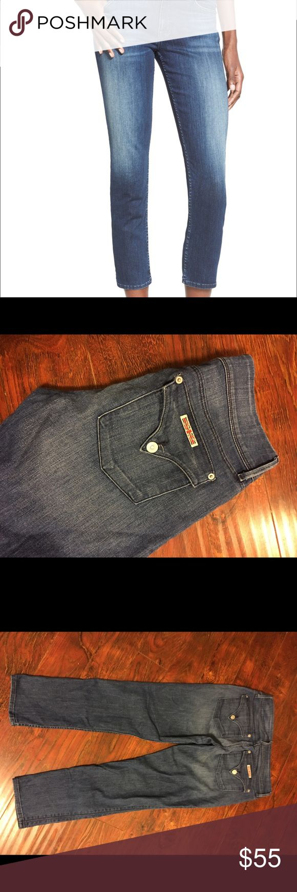 "Hudson women's crop jeans size 29 • Size 29 inseam 27.5"" • Gently used no stains fades or holes • Crop Jeans • Pet and smoke free home • Bundle for a cheaper shipping rate.  • Thanks for stopping by and please don't forget to check out my other listing. Hudson Jeans Jeans Ankle & Cropped"