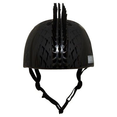 Krash! Black Boltz Mohawk Youth Helmet 8+