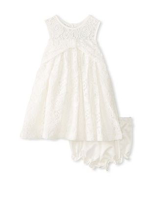 62% OFF Pippa & Julie Girl's Lace Dress (White)