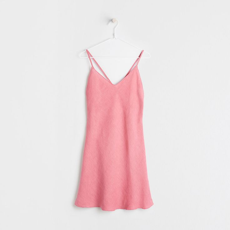 Image 5 of the product Coral linen nightdress