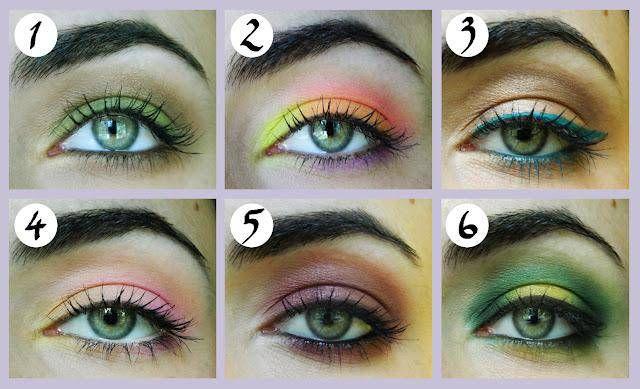 Яркий макияж для зеленых глаз – Макияж #1
