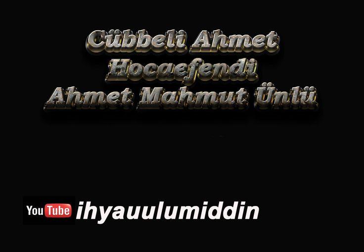 Cübbeli Ahmet Hoca 08.11.2005 Mescid Sohbetleri