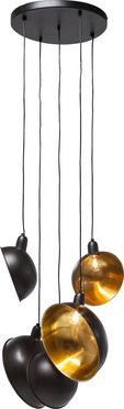 Pendant Lamp Kettle Black 5-lite