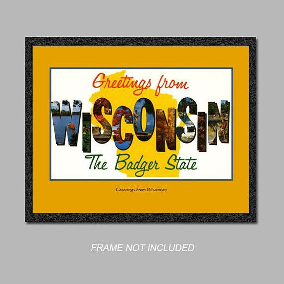 The 16 best Wisconsin Vintage Postcards images on Pinterest