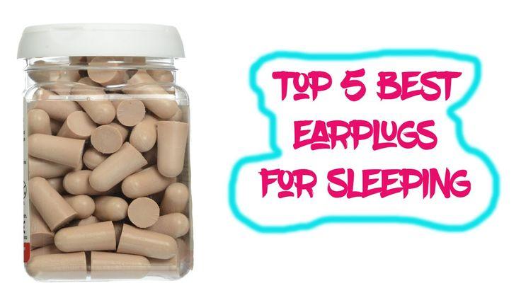 Top 5 Best Earplugs for Sleeping Reviews | Best Ear Plugs
