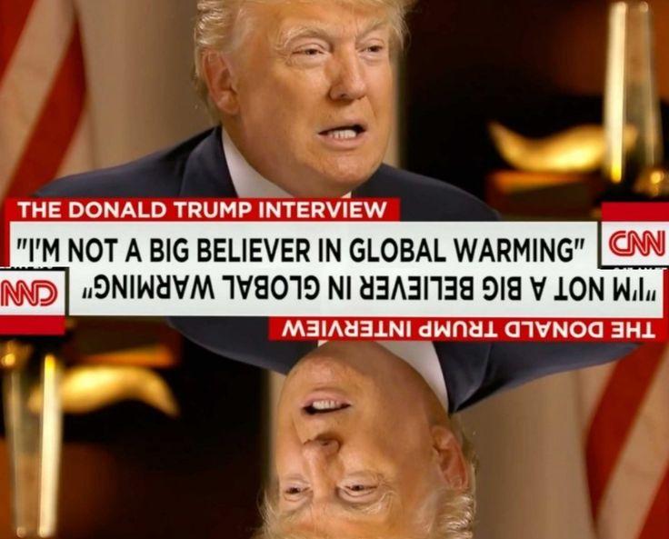 Κωλοτούμπα Τραμπ για την Κλιματική Αλλαγή