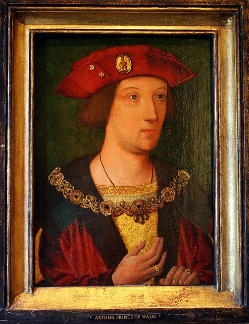 Portrait of young Henry VIII