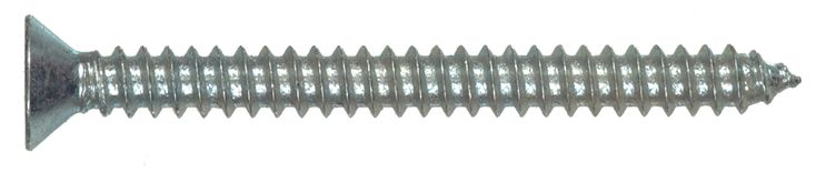 """Hillman Fasteners 80198 Zinc Plated Sheet Metal Screws # 8 x 2"""" Box"""