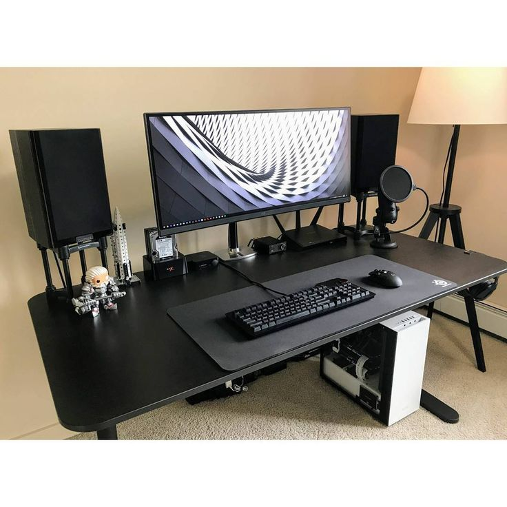 """64 Likes, 1 Comments - Mal - PC Builds and Setups (@pcgaminghub) on Instagram: """"An ultra clean ultrawide setup! By: u/Exino. Check out the link in my bio! Tag a friend who might…"""""""