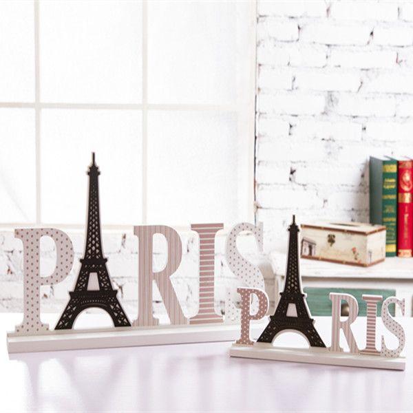 carta par s madera regalo de navidad decoraci n para el