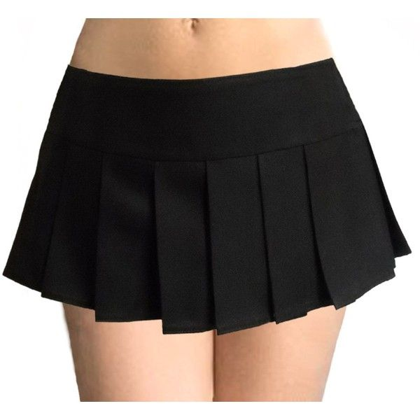Donald\ Seneca Black Schoolgirl Pleated Micro Mini Skirt Glenelg ($28) ❤ liked on Polyvore featuring skirts, mini skirts, bottoms, pants, saias, linen mini skirt, high-low skirt, linen skirt, short skirts and cocktail skirt