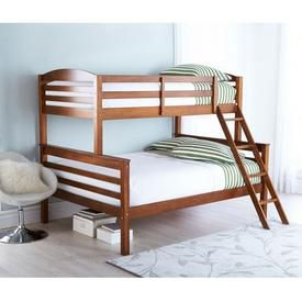 Buy 'Owen' Pine Twin-Over-Double Bunk Bed Online & Reviews
