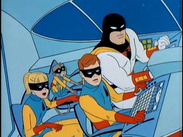 Space Ghost, Jan, Jayce & Blip