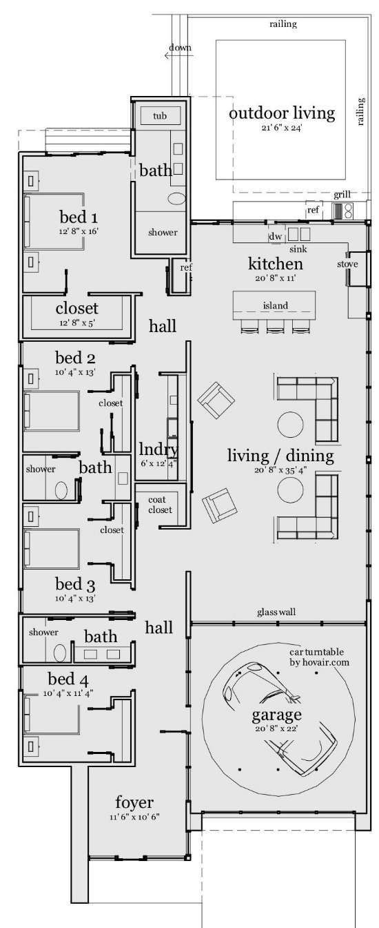 Beach House Floor Plans beach house plans floor plan 1gif 21185 bytes Find This Pin And More On House Cottage Floorplans