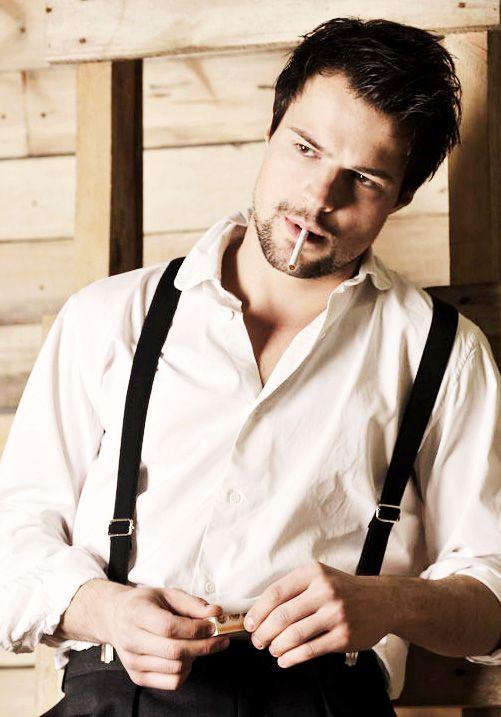 Danila Kozlovsky #suspenders #menstyle #accessories