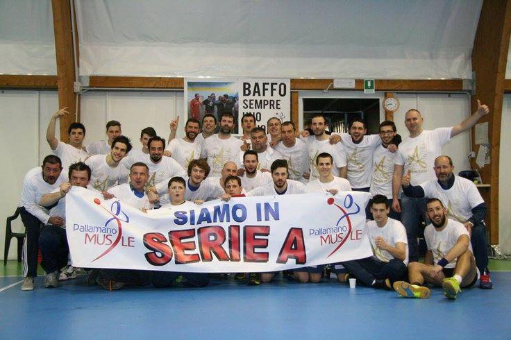 Con piacere vi comunichiamo che la Pallamano Musile, società di handballa a Musile di Piave della quale noi siamo sponsor, è stata promossa in Serie A grazie alla vittoria del campionato