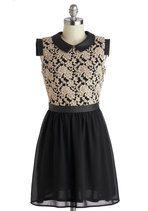 Coffee Shop Reunion Dress   Mod Retro Vintage Dresses   ModCloth.com