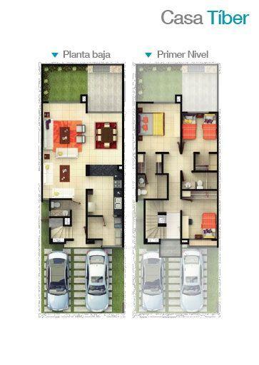 121 best floor plans images on pinterest architecture for Planos de casas para construir