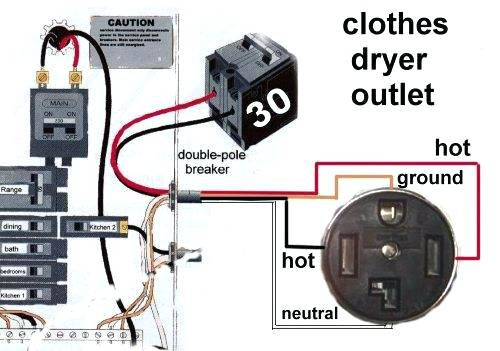 Wiring Diagram For 220 Volt Dryer Outlet In 2020 With Images