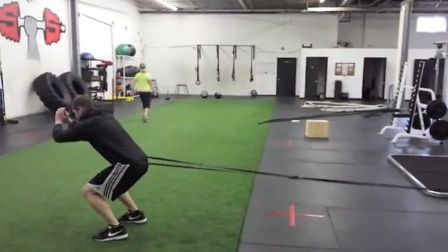 Band Exercises to Make You a More Explosive Athlete (and I'm pretty sure Eric Cressey recently posted on this topic, too, and why it's better from the deceleration standpoint).
