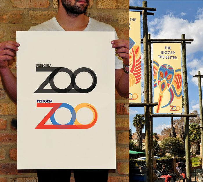 Where The Wild Things Are - Re-branding of the Pretoria Zoo. The goal is to inform the community that a positive change is coming. A logo is the face of any brand. By creating a new face of the brand, the brand shows its eagerness to adapt to change and improvement.