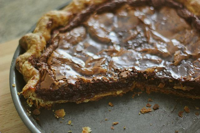 Southern Souffle: Videri Chocolate Brownie Pie