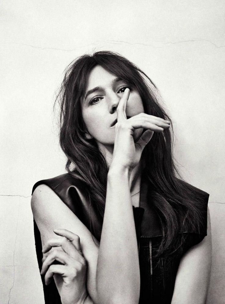 Charlotte Gainsbourg by Sebastian Kim.