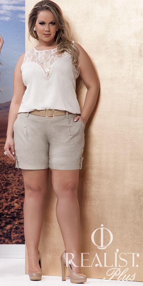 Realist Plus Size. Look da coleção Verão 2014/15.Look para reveillon  #plussize #plus #size