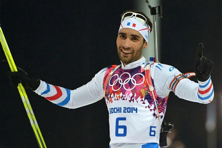 Martin FOURCADE double médaillé d'or au JO de SOCHI 02/2014